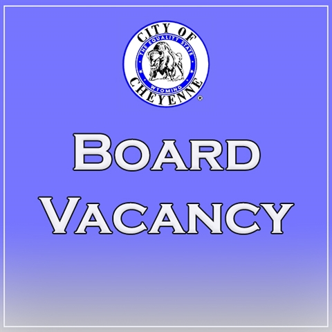 board vacancy - blue