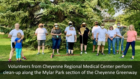 CRMC Greenway Fall Clean-up